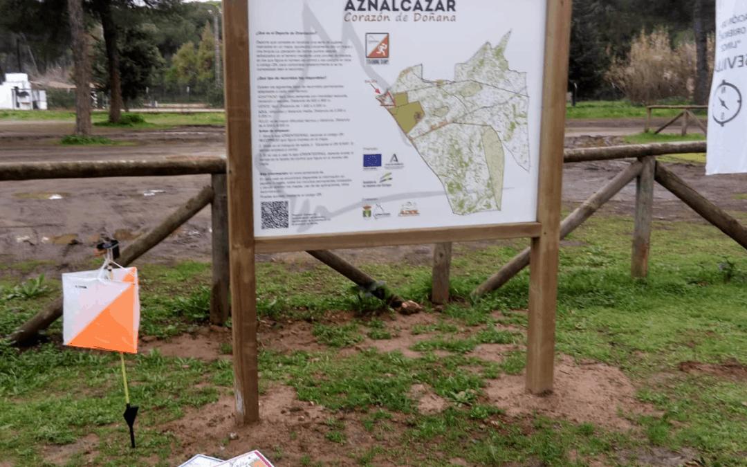 Inauguración del Circuito Permanente de Orientación en Aznalcazar