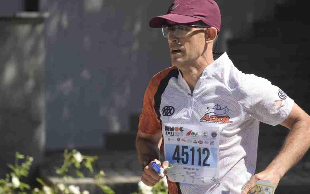 Samuel Díaz (ADOL) se proclama Campeón del Mundo de Sprint (M45)